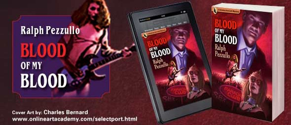 Blood of My Blood by Ralph Pezzullo - Cover Art by Charles Bernard