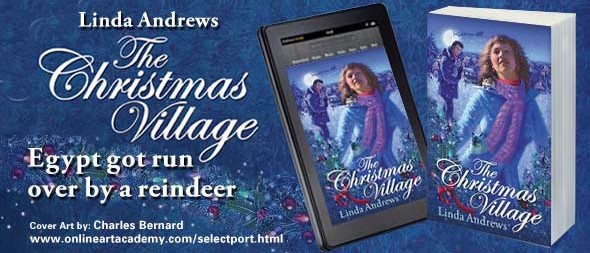 The Christmas Village by Linda Andrews - Cover Art by Charles Bernard