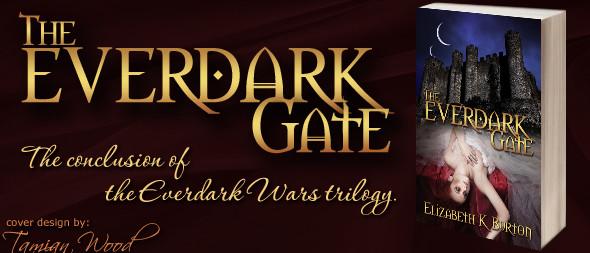 The Everdark Gate by Elizabeth K. Burton - Cover Art by Tamian Wood