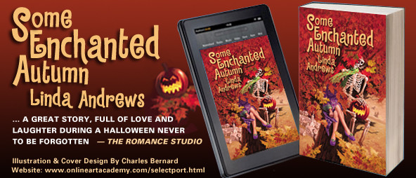 Some Enchanted Autumn by Linda Andrews - Cover Art by Charles Bernard