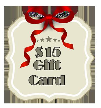 Gift Card - $15