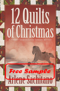 12 Quilts of Christmas by Arlene Sachitano