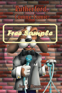 Rutherford, Canine Comic by John V. Madormo