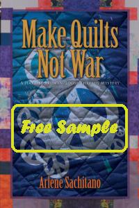 Make Quilts Not War Free Sample